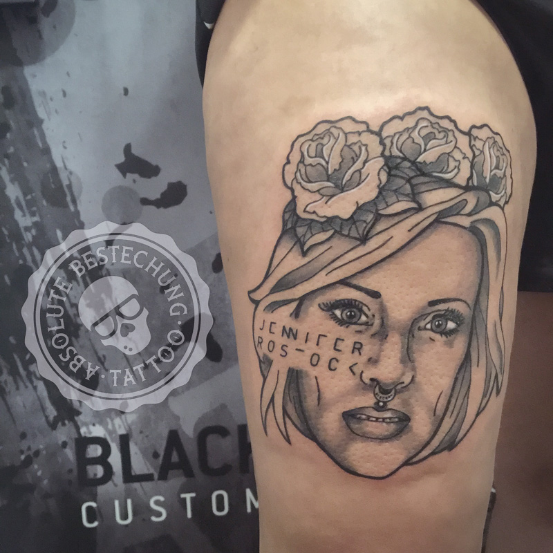 jennifer rostock tattoo